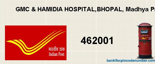 Postal Pin Code Number Of Gmc Hamidia Hospital Bhopal Madhya